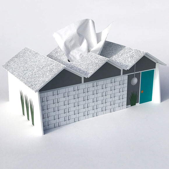 House Tissue Box Covers - Folded Plate