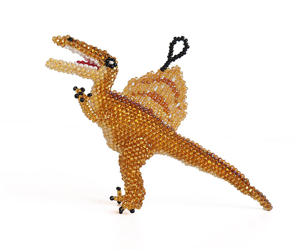 Beaded Spinosaurus Ornament