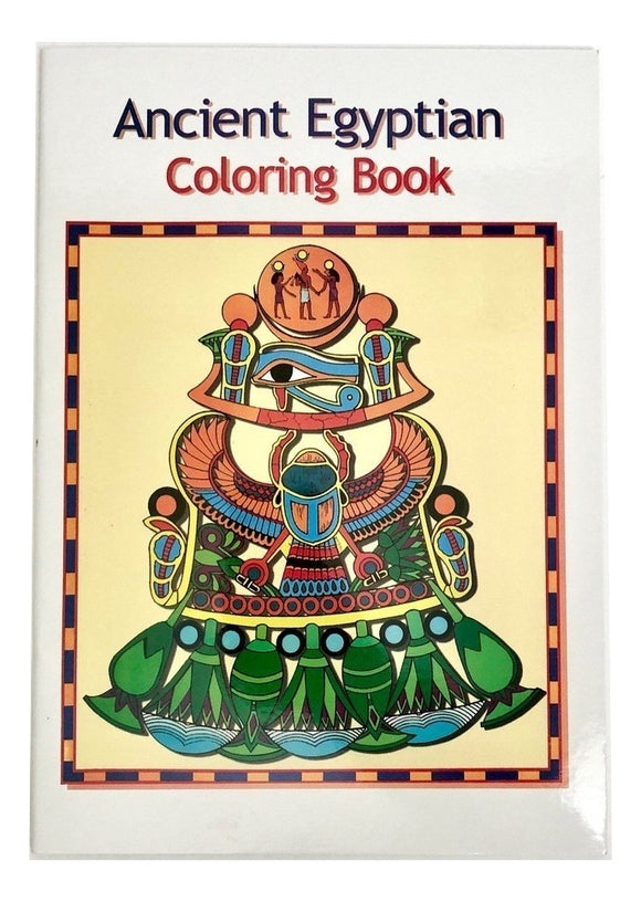 SALE-Ancient Egyptian Coloring Book