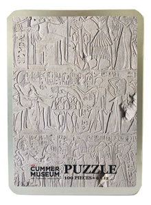 SALE-Egyptian Sculpture 100-Piece Puzzle