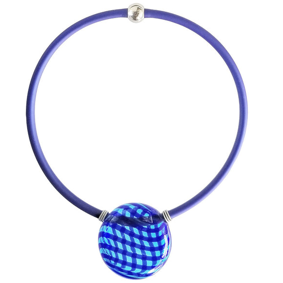 Verona Blue Murano Glass Necklace