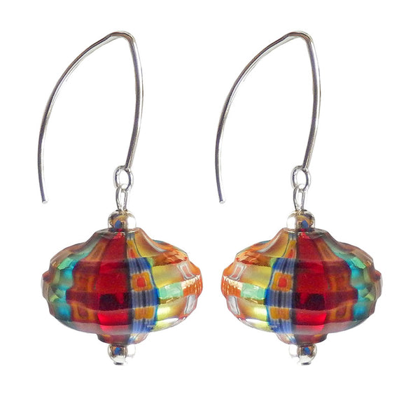 Venezia Onion Murano Glass Earrings