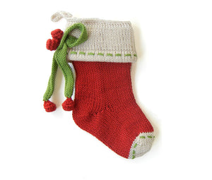 Mini Bow Red Stocking