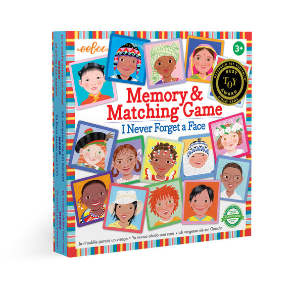 I Never Forget a Face Memory Matching Game