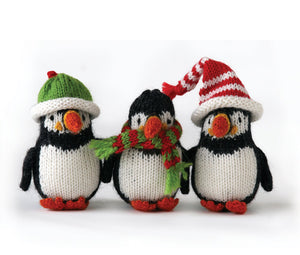 Puffin Ornaments Set