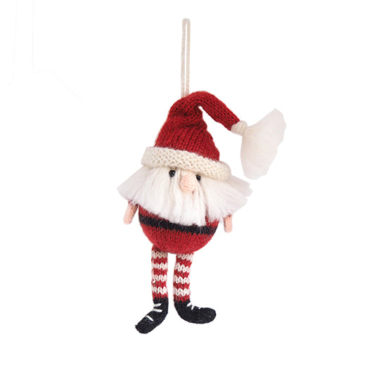 Santa Claus Knit Ornament