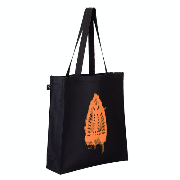 Gusseted Canvas Tote