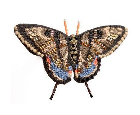 Swallowtail Butterfly Embellished Pin