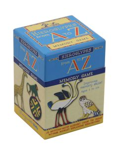 SALE-Hieroglyphs From A to Z Memory Game