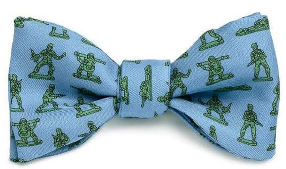 Army Toy Soldiers  Bow Tie