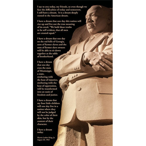 Martin Luther King Words- Paper Print