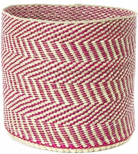 Berry & Natural Maila Milulu Reed Basket - Large