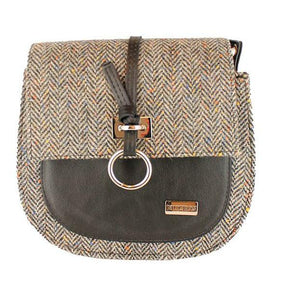 Grace Bag, 100% Wool, Grey