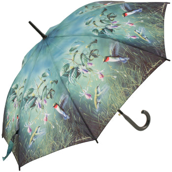 Reverse Close Hummingbirds Umbrella