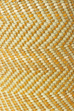 Yellow & Natural Maila Milulu Reed Basket - Medium
