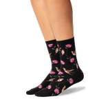 Women's Hummingbirds Crew Socks
