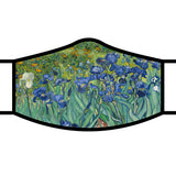 Face Mask- Van Gogh Irises