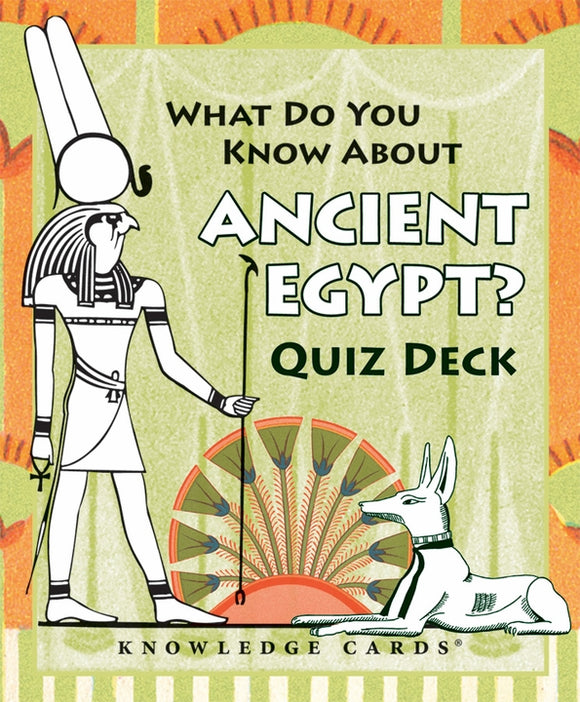 SALE- What Do You Know About Ancient Egypt? Quiz Deck