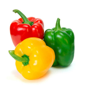 Peppers Mixed: 1 Green, 1 Red and 1 Yellow