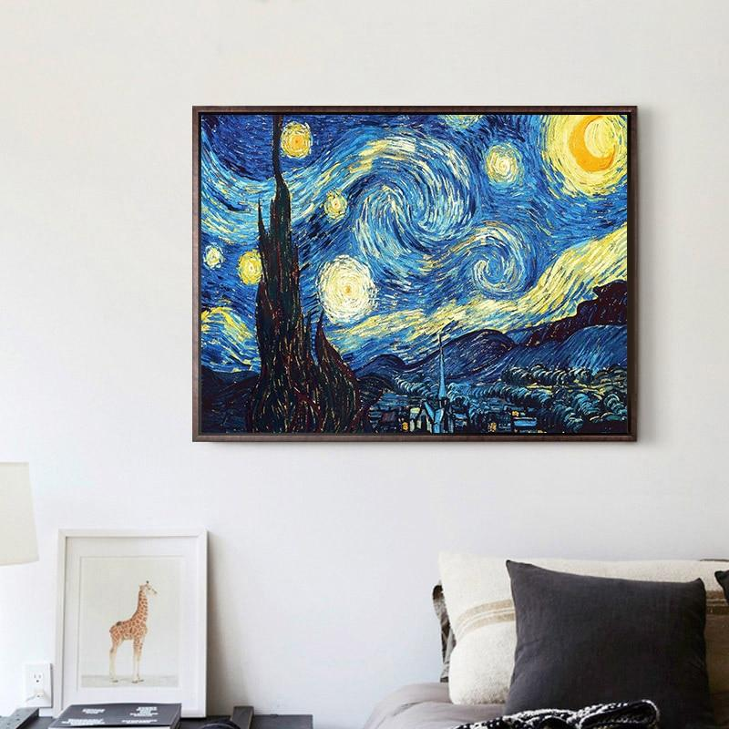 Abstract Art Star Sky DIY 5D Cross Stitch Full Square Round Diamond Painting