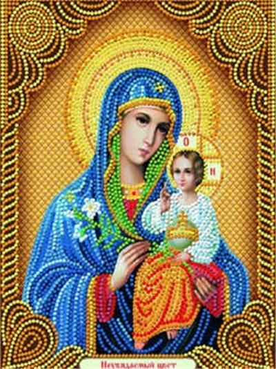 DIY Diamond Painting Religion Icon Full Square Diamond Embroidery Cross Stitch Mosaic