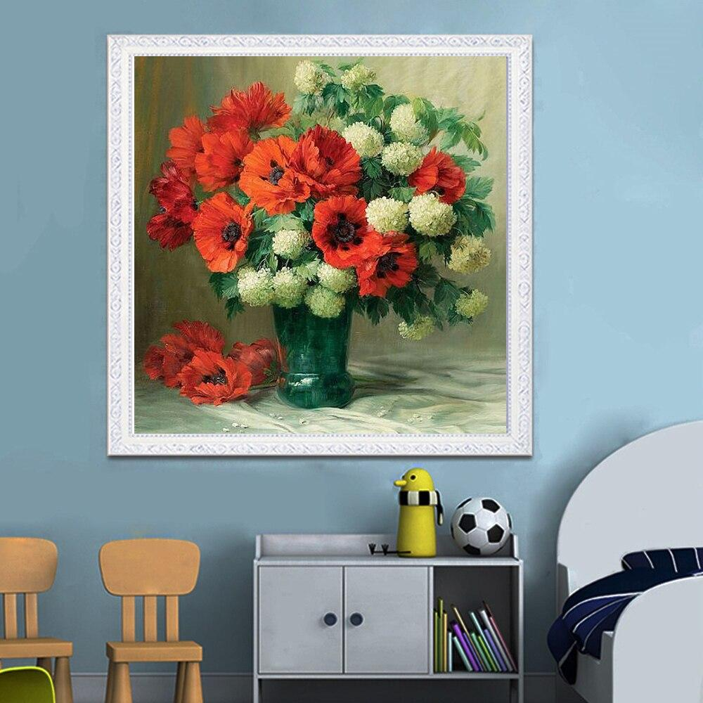 Diamond Embroidery Flowers Sale Diamond Painting Full Square Diamond