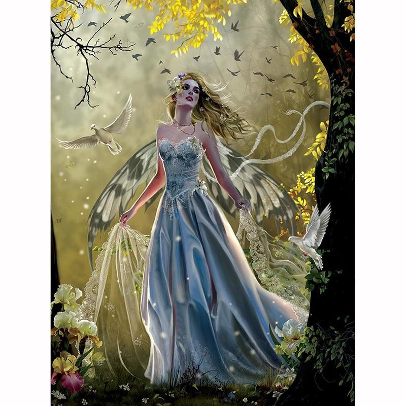 Forest Fairy DIY 5D Cross Stitch Full Square Diamond Painting