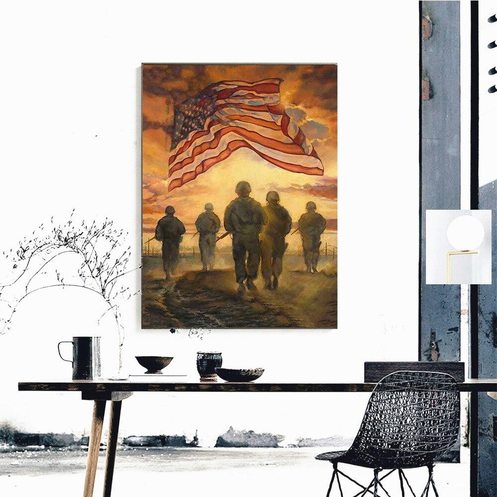 Fighting Army DIY 5D Cross Stitch Full Square Diamond Painting