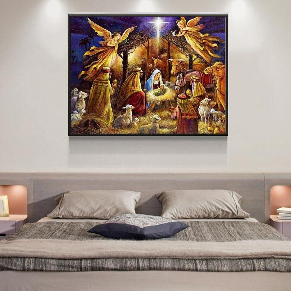 Angels Baby DIY 5D Cross Stitch Full Square Diamond Painting