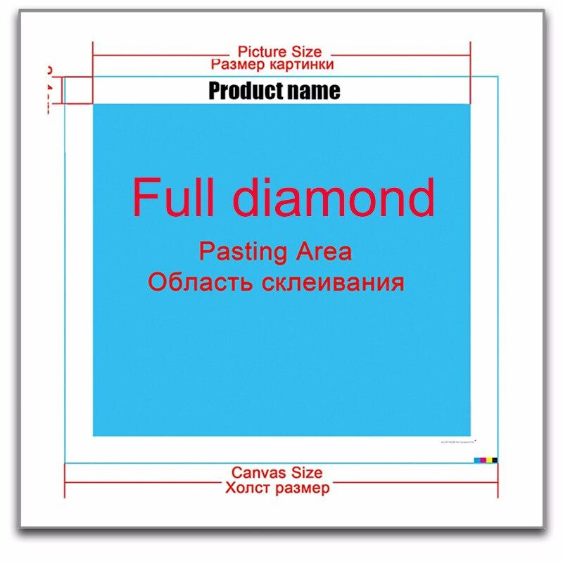 DIY 5D full diamond painting cross stitch train mosaic diamond embroidery sewing pattern rhinestone