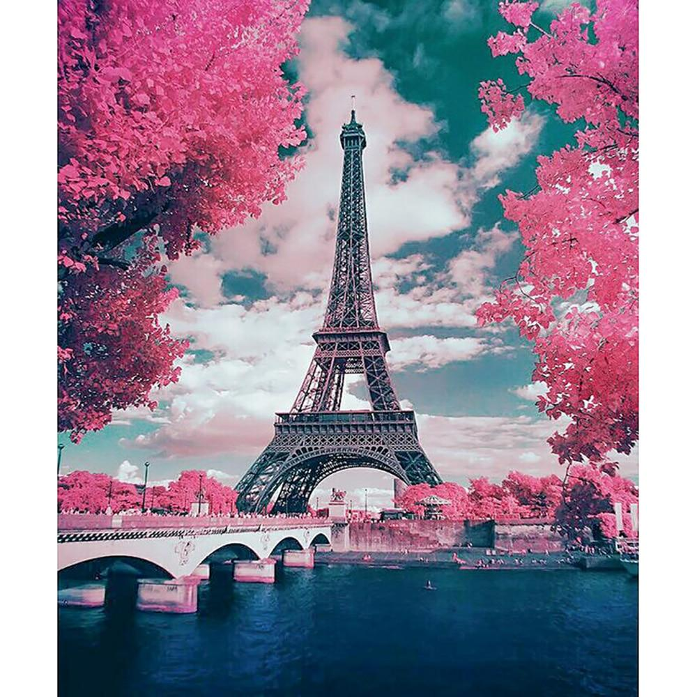 Tower DIY 5D Cross Stitch Full Square Diamond Painting