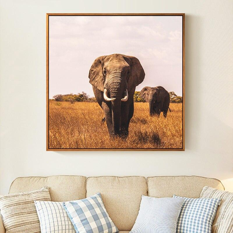 African Savanna Elephant DIY 5D Cross Stitch Full Square Diamond Painting
