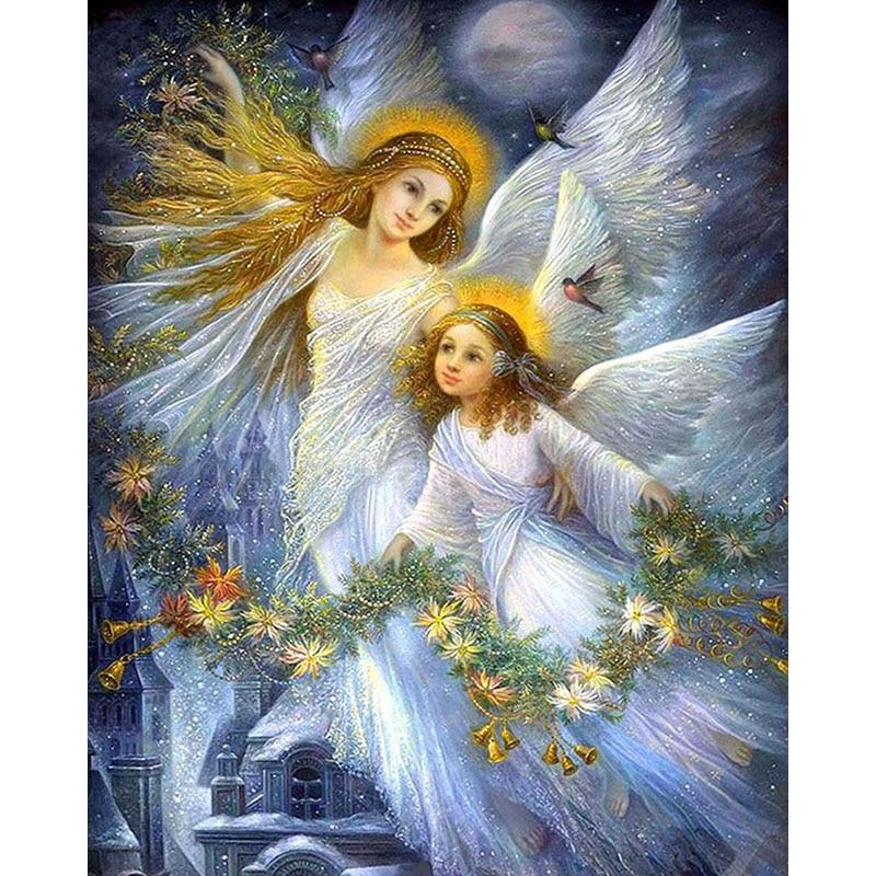 Angel Wings DIY 5D Cross Stitch Full Square Diamond Painting