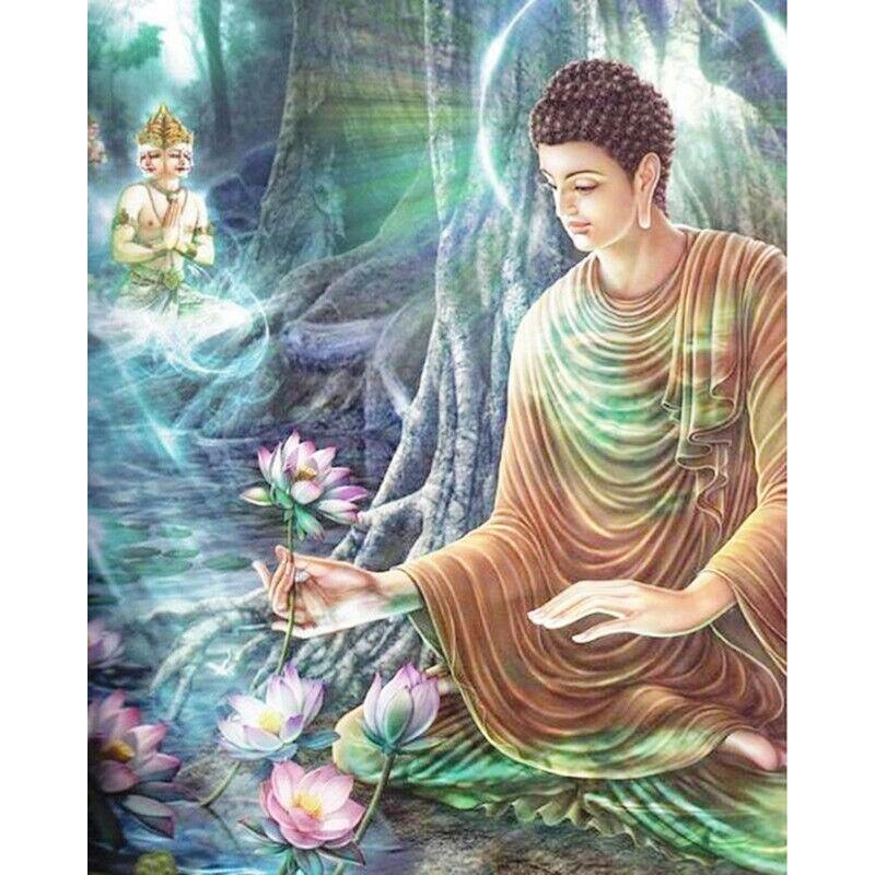 Buddha DIY 5D Cross Stitch Full Square Diamond Painting