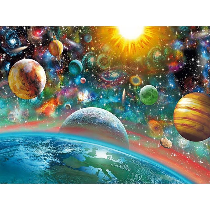 Universe DIY 5D Cross Stitch Full Square Diamond Painting