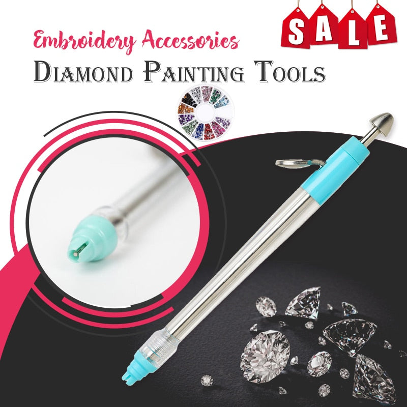 5D DIY Diamond Painting Pen Point Drill pen Diamond Painting Kit
