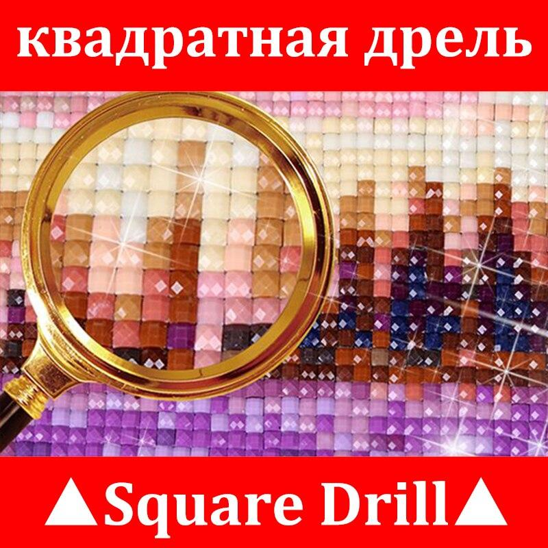 Beautiful Snow Winter Landscape DIY 5D Cross Stitch Full Square Diamond Painting