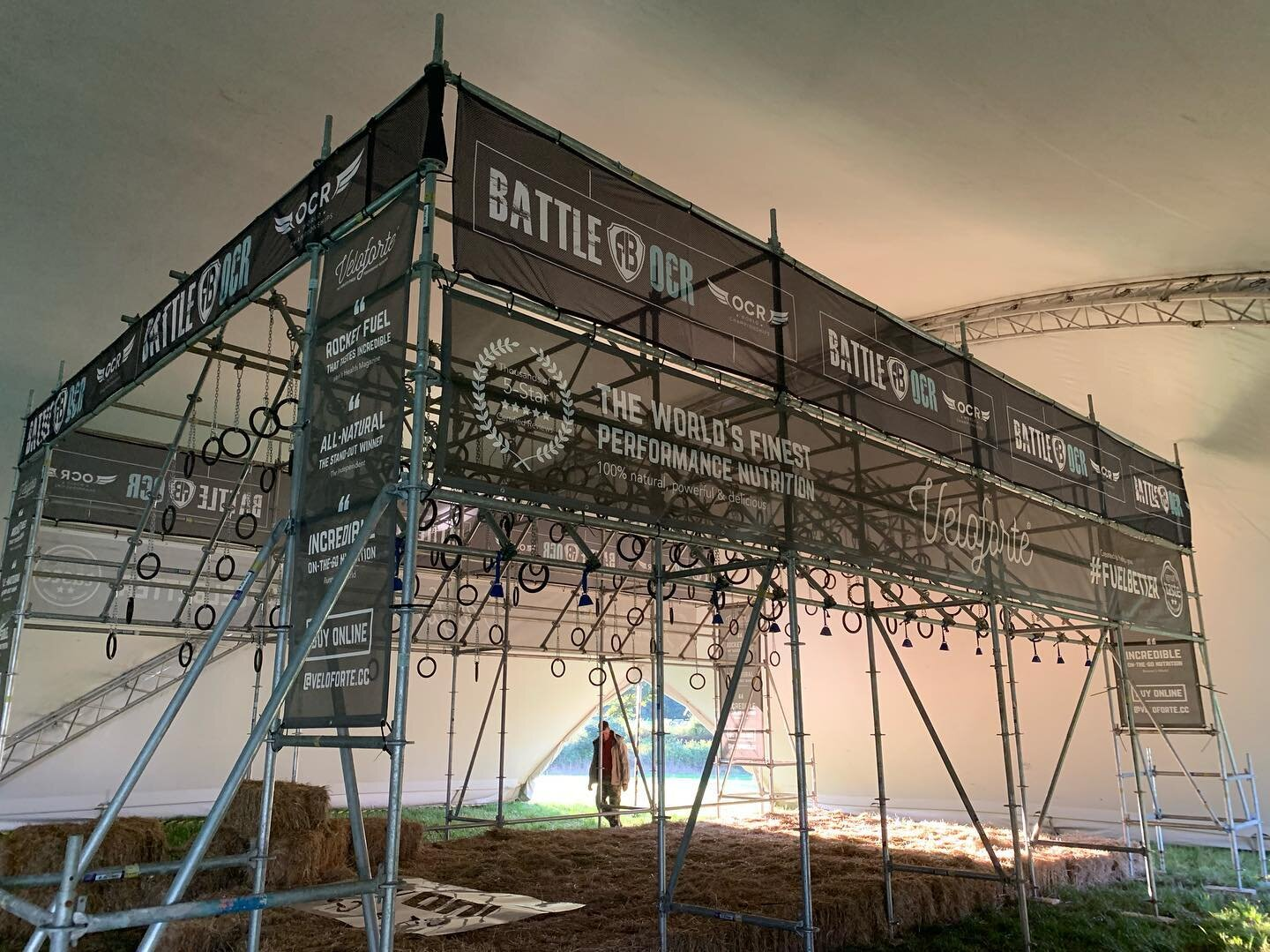 Battle of the Lions Obstacles are Safe and Professionally Built