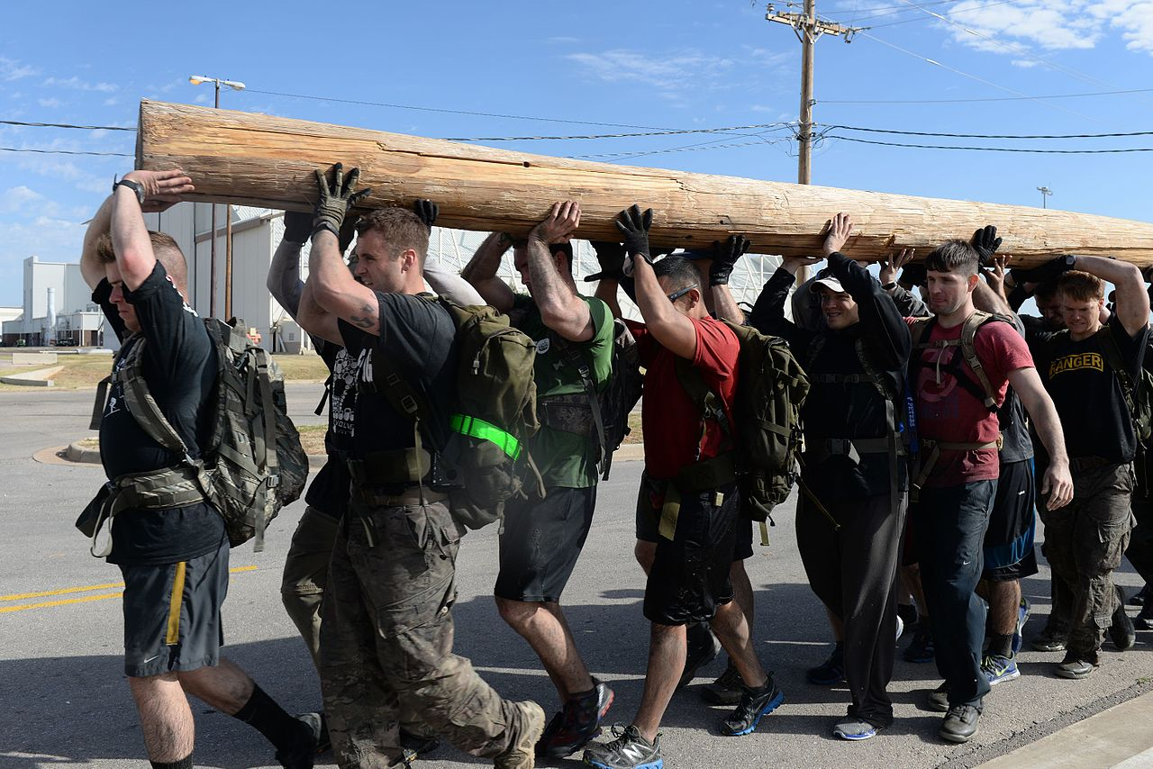 GORUCK Challenge participants learn the value of good rucking socks.