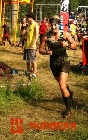 Morgan Mckay MudGear Obstacle race athlete
