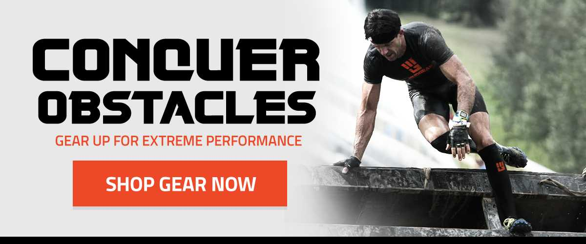 Gear Up with MudGear for Extreme Performance in Spartan Race Tough Mudder Warrior Dash and other obstacle and adventure races