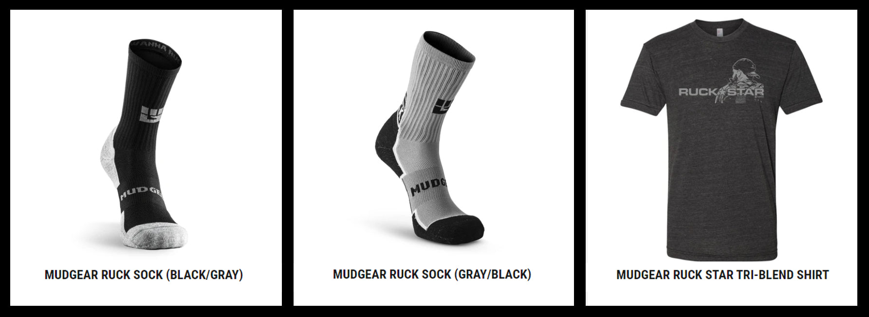 Essential MudGear Socks and Apparel for Rucking