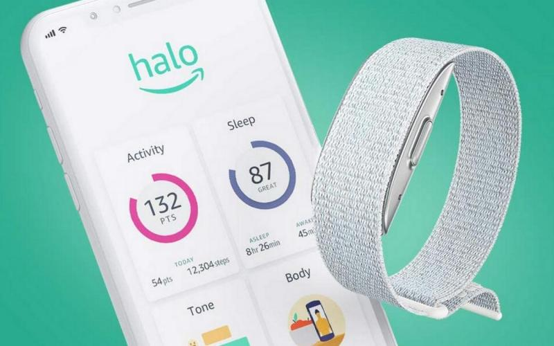 Amazon Halo can monitor body fat and detect stress in your voice.