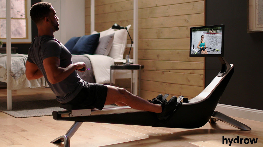 Bring the outside in with Hydrow (smart rower)