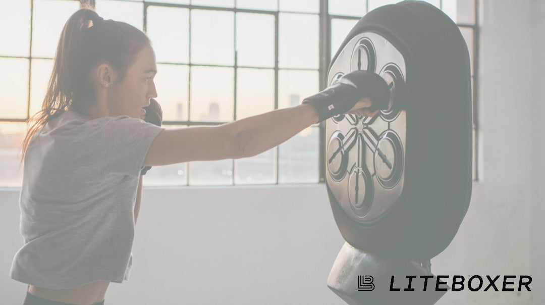 Step into the ring without stepping out of the house with Liteboxer