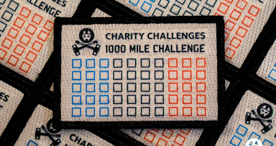 1000 miles patch