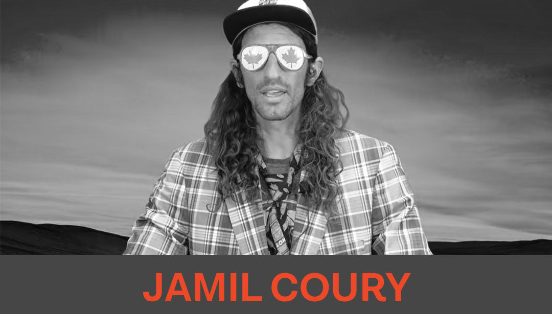 Photo of trail runner and influencer Jamil Coury