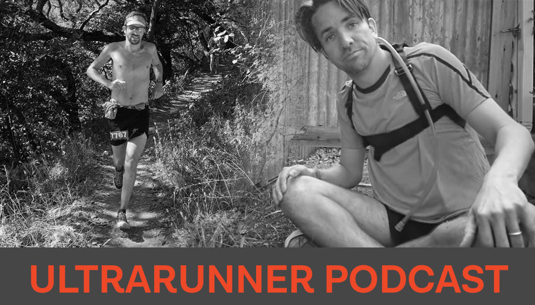 Photo collage of trail runner and influencer Ultrarunner Podcast