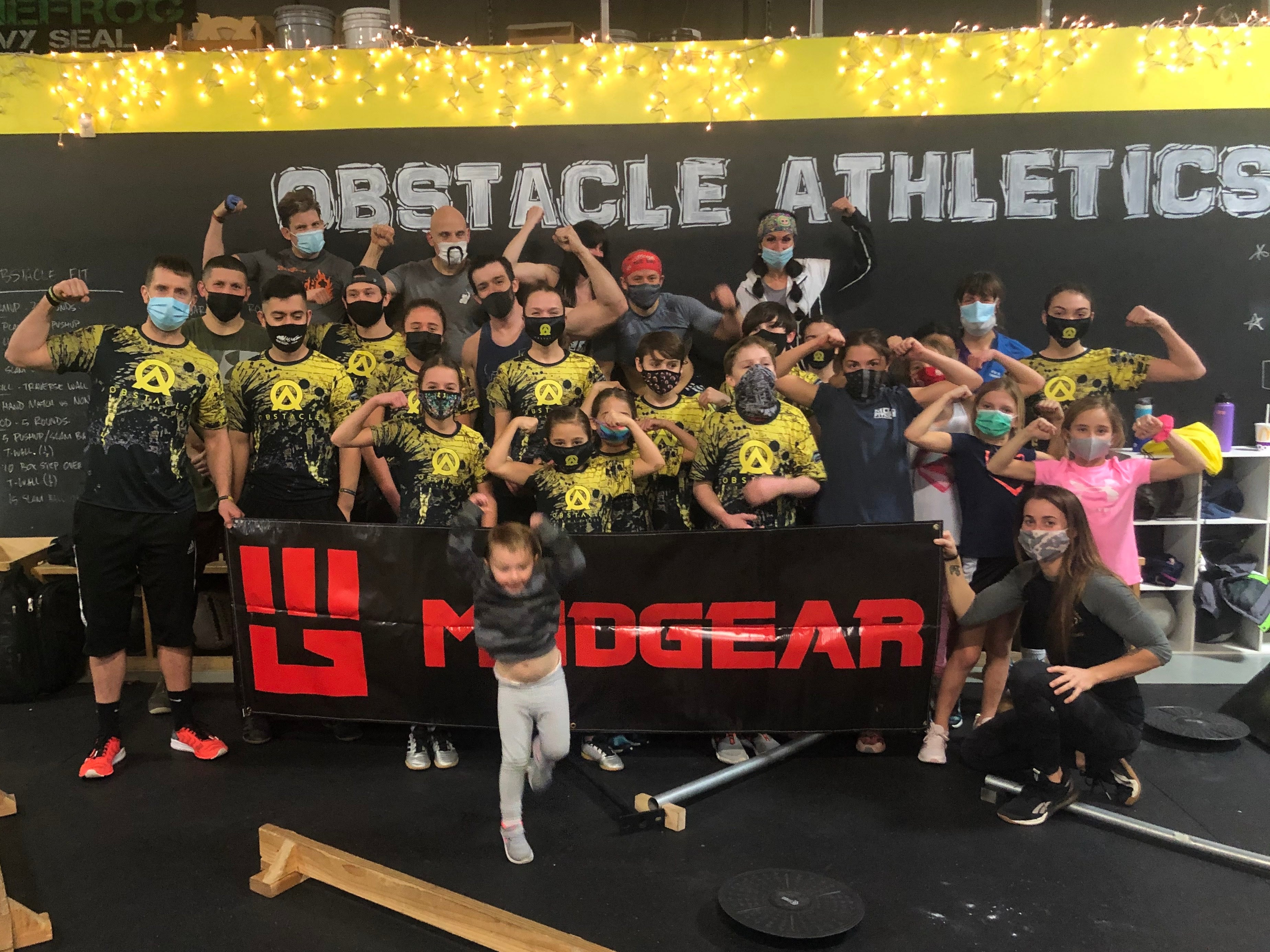 MudGear at Obstacle Athletics