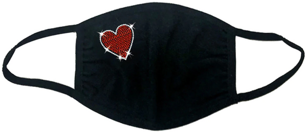 FASHIONABLE - Embroidery Singe Heart - welogos